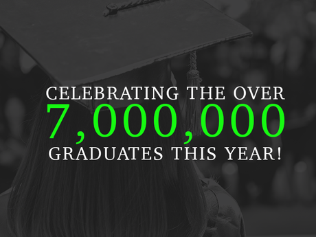 Celebrating the over 7,000,000 graduates this year!