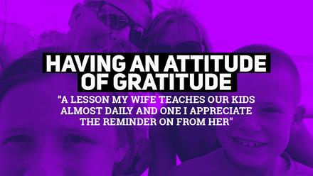 Having An Attitude Of Gratitude