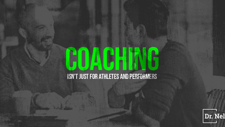 Coaching isn't just for athletes and performers