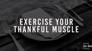 As we break bread today exercise your thankful muscle
