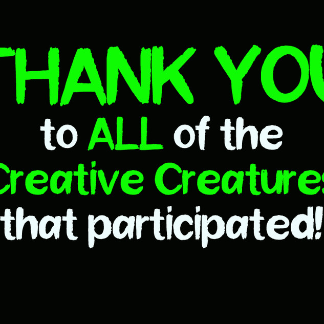 THANK YOU TO ALL PARTICIPANTS