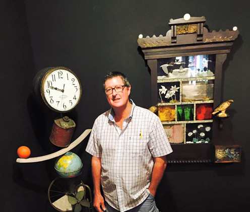 Micheal Wimmer is a resident artist at the NoCo Arts Center!