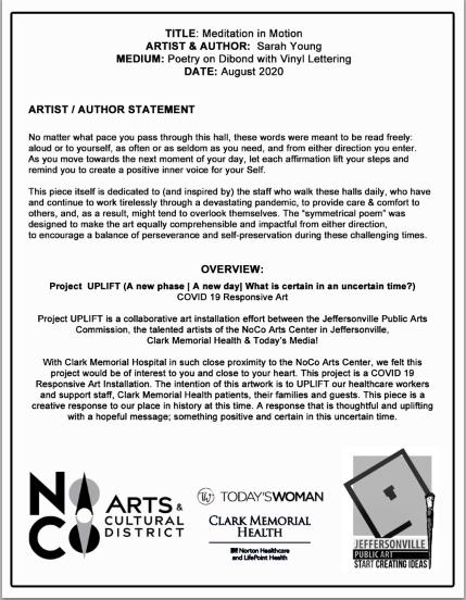 Artist/Author Statement