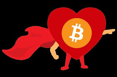 Bitcoin Tuesday Hero superhero heart.png