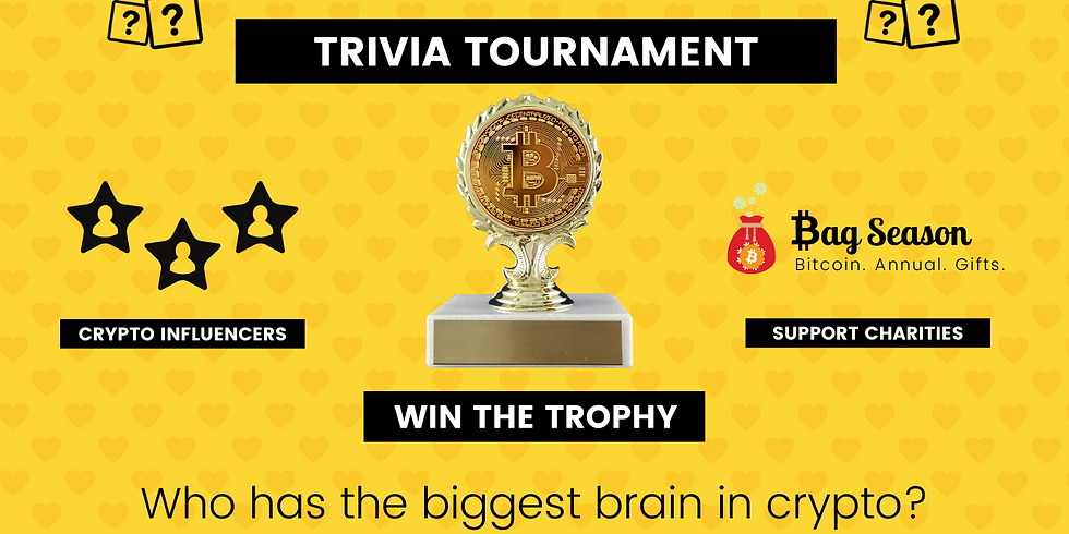 Trivia Tournament: Who Has the Biggest Brain in Crypto?