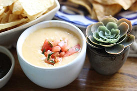 Happy hour queso