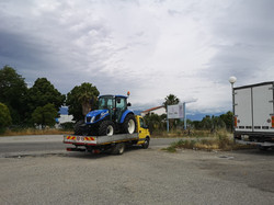 CONSEGNA NEW HOLLAND