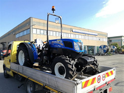 CONSEGNA NEW HOLLAND T 4.95 F