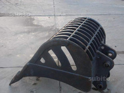 Benna spietratrice nuova foro 47 inter 30-90 cm