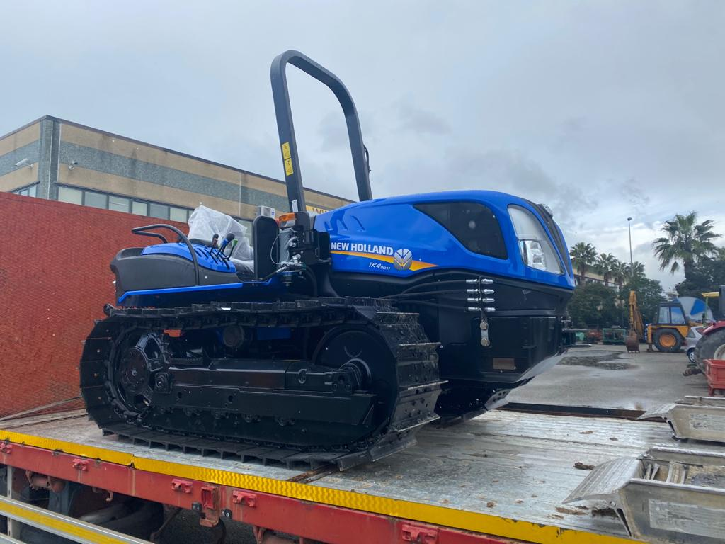 CONSEGNA NEW HOLLAND TK 4.90M