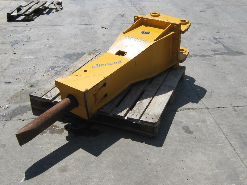 Martello demolitore idraulico NUOVO KG 650
