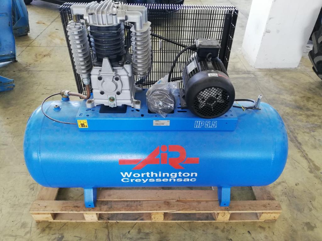 COMPRESSORE 5,5 HP NUOVO WORTHINGTON/ATLAS COPCO