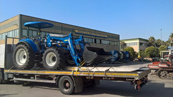 CONSEGNA NEW HOLLAND T4.105