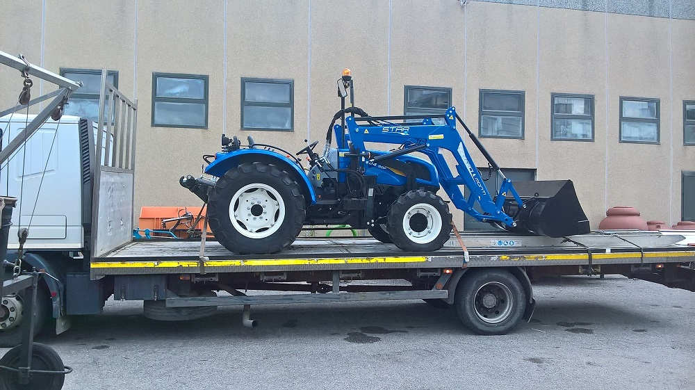 CONSEGNA NEW HOLLAND TD 4.90F