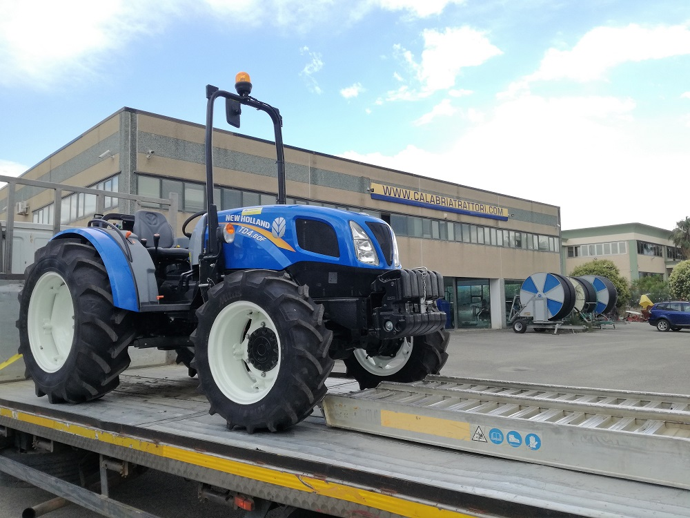 CONSEGNA NEW HOLLAND TD 4.80 F