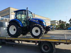 CONSEGNA NEW HOLLAND T 4.85