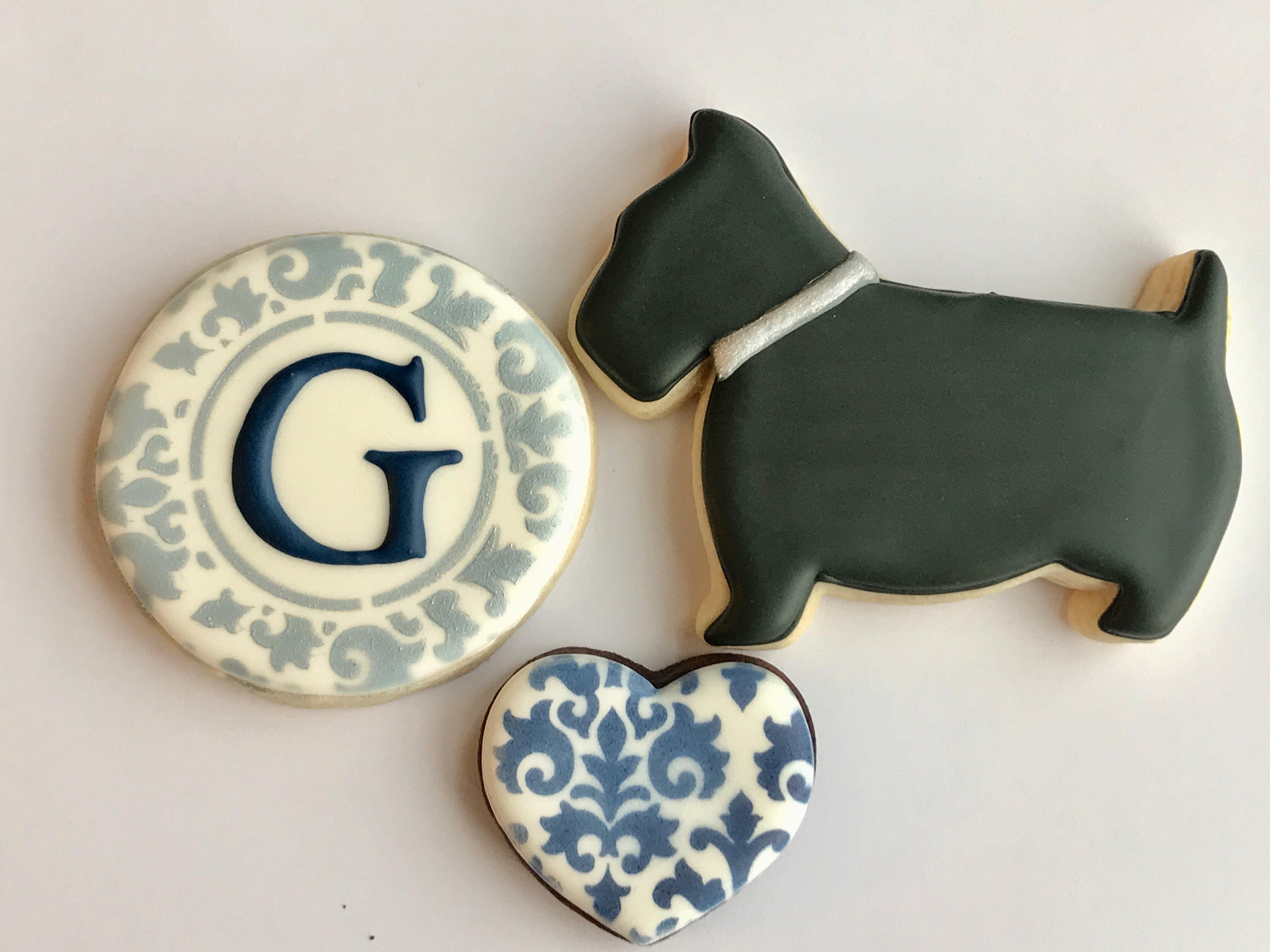 Custom Cookies Lesville Sweet Als Wedding Favor Set