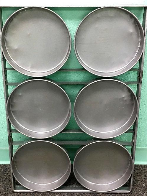 "6 Mold 10"" Round Cake Pan"