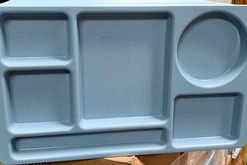 Cambro 915CW168 Camwear Blue Cafeteria Serving Trays 24 per Case