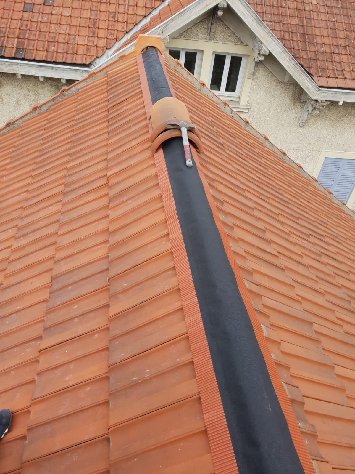 réparation de toiture chantilly