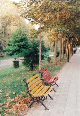 Tirana Benches.