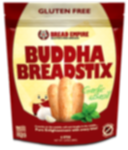 Buddha BreadStix Garlic & Basil Gluten Free Cheese Breadstix
