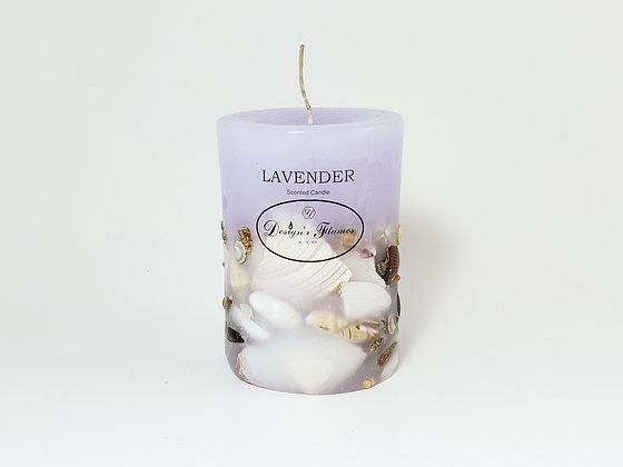 "(3"" x 4"") Designer Flames Ltd. Scented Candles"