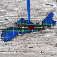 Nova Scotia Tartan Ornament
