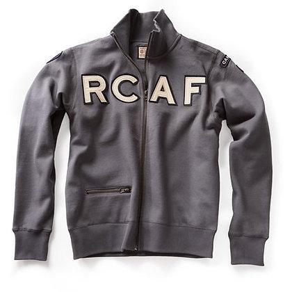 RCAF Full Zip Front Sweatshirt