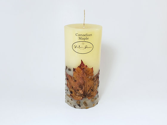 Designer Flames Ltd. Canada Maple Leaf Candle