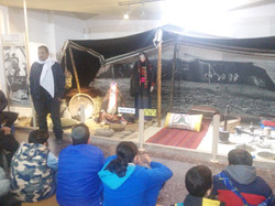 סיור במוזיאון הבדואי