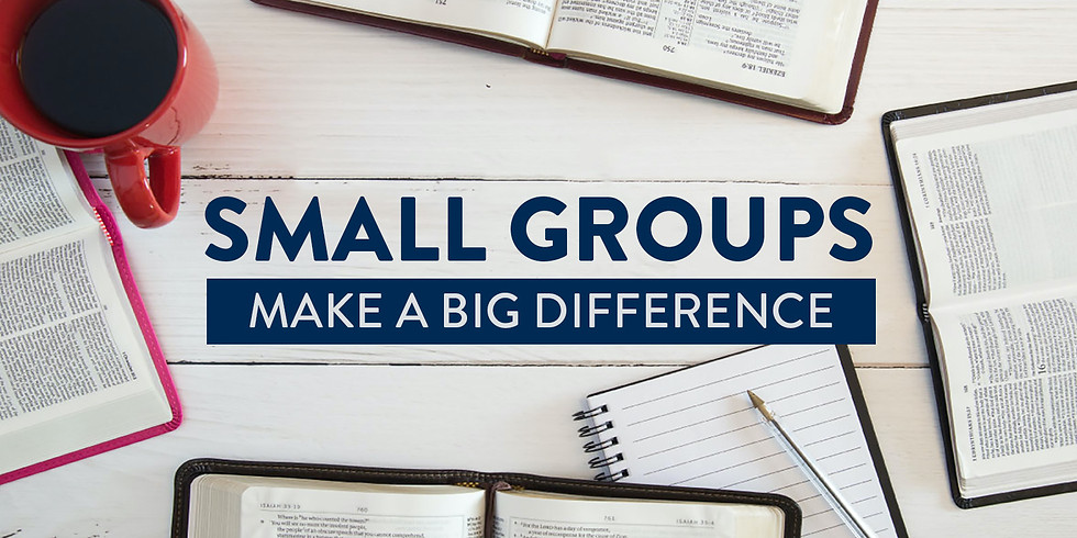 40 Day Small Groups