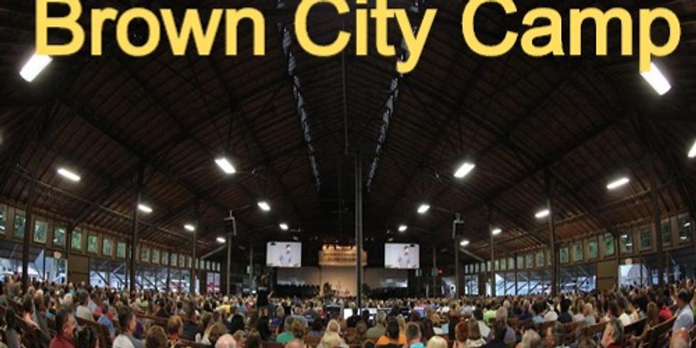 Sunday Worship At Brown City Camp