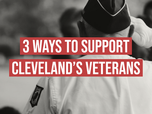 3 Ways to Support Cleveland's Veterans