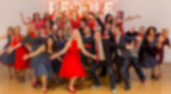 Photo of the Bournemouth based musical theatre choir Do You Hear the People Sing?