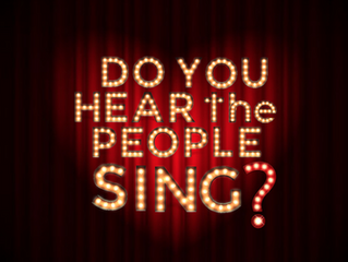 Do You Hear the People Sing? Launches new logo and website