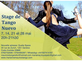 Tango Nuevo workshop May 2019