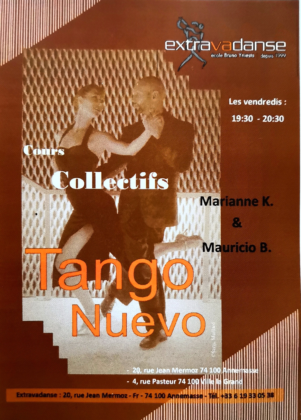 Tango lessons annemasse