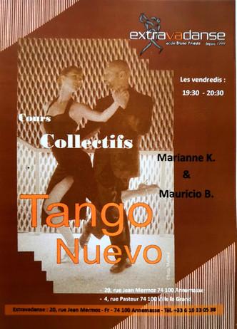 New class on Fridays: Tango Nuevo