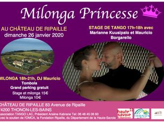 Milonga Princesse