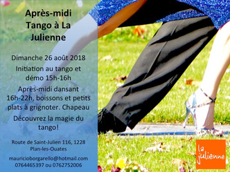 Milonga à La Julienne