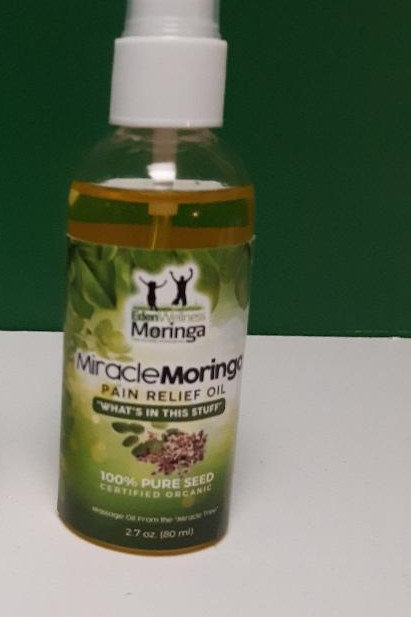 Large Bottle of Moringa Pain Relief