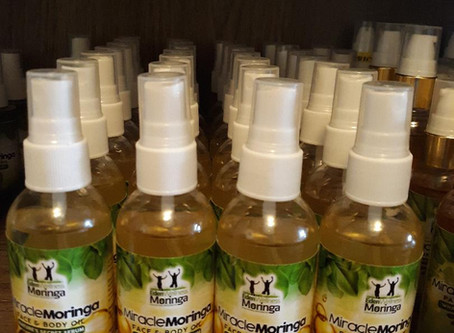 Moringa Face & Body Oil