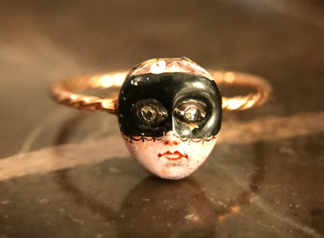The Masked Lady in Antique Jewelry