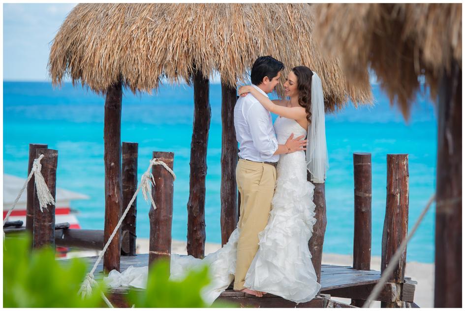 After Wedding Shooting Cancun/Mexiko