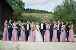 Schicke Brautjungfern
