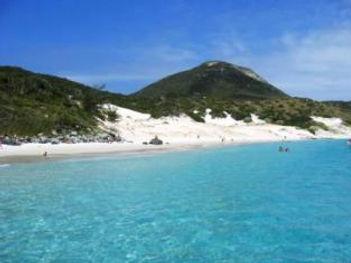 Praia da ilha Arraial