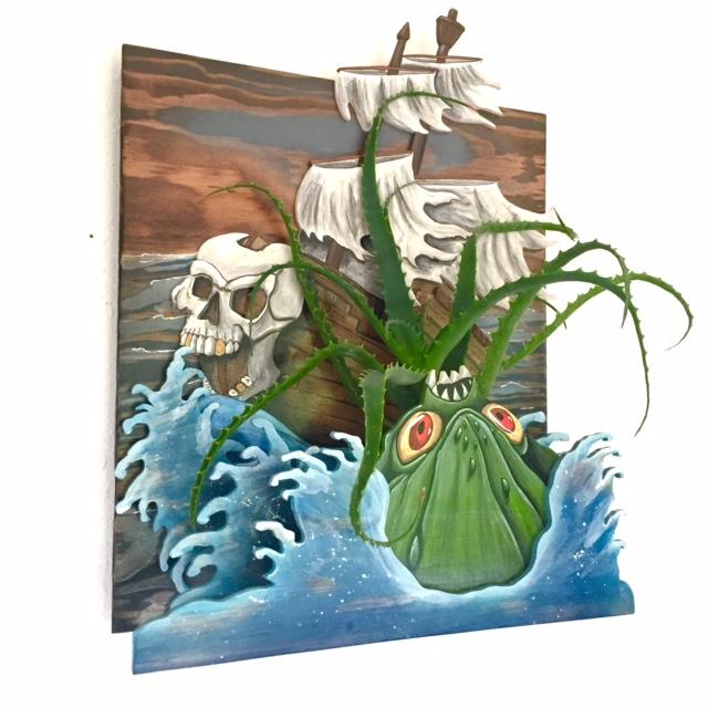 keep kraken 3-D diorama