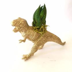 golden dino