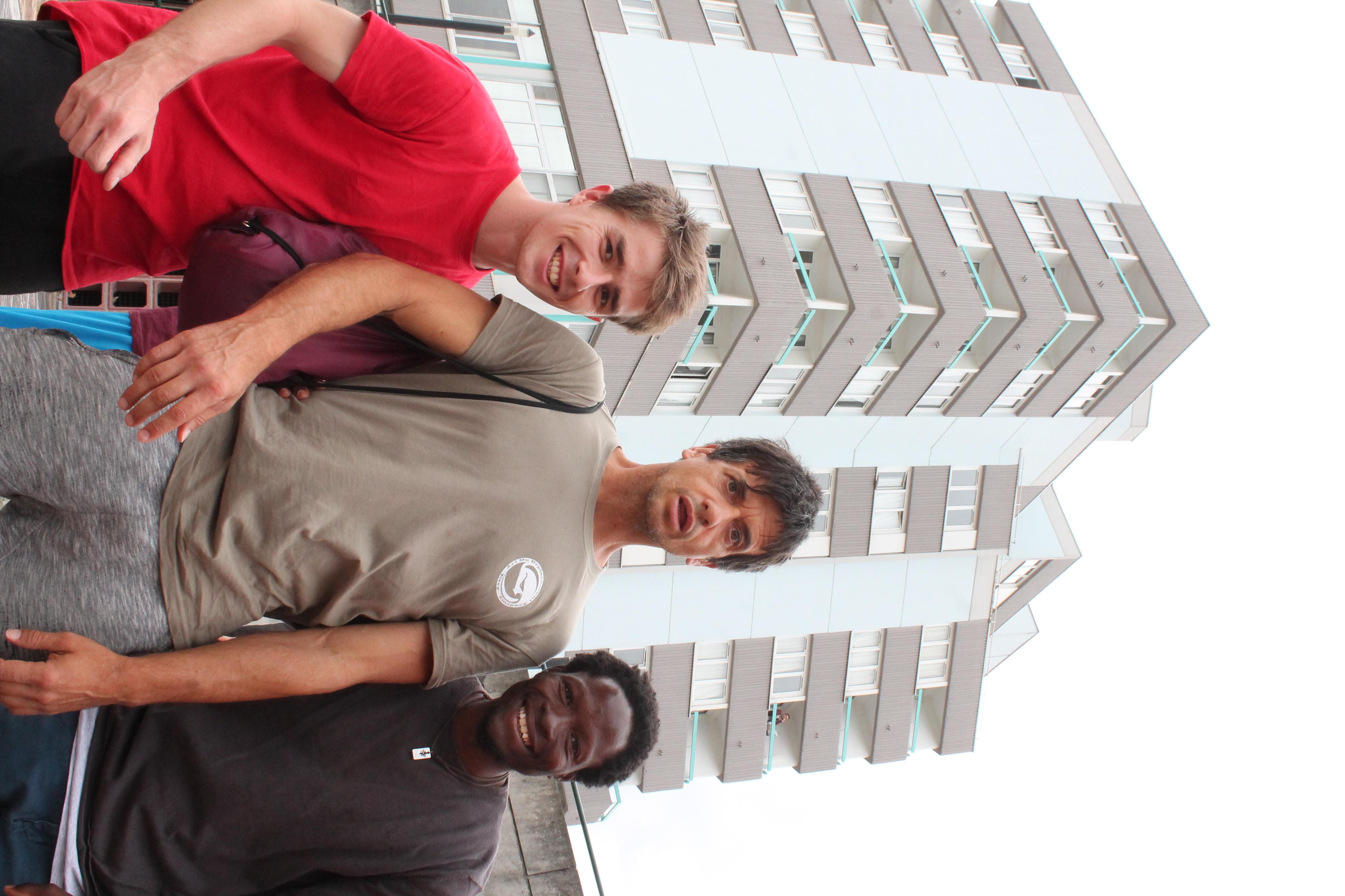 Julien, Laurent, Cyril